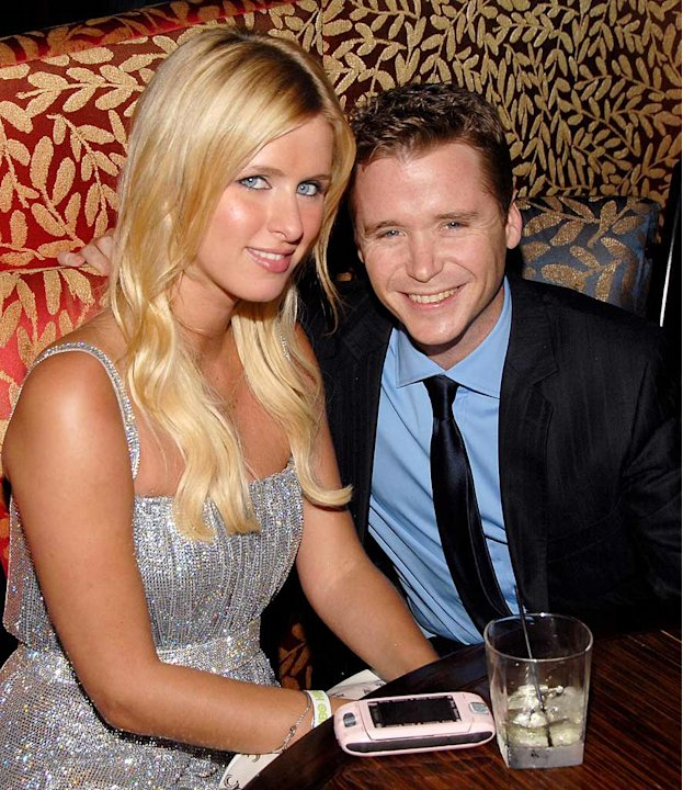 Nicky Hilton and Kevin Connolly at the &quot;Entourage&quot; Season Three New York Premiere.  June 7, 2006 
