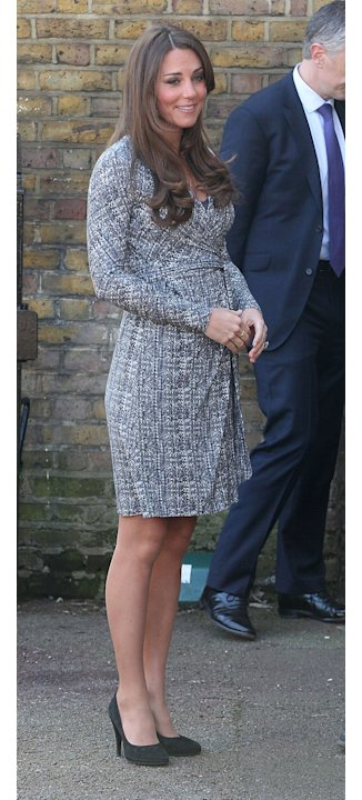 Pregnant Kate Middleton to wear Topshop maternity?