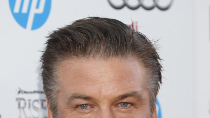 """Alec Baldwin arrives at the """"Rise Of The Guardians'"""" special screening during the 2012 AFI FEST at Grauman's Chinese Theatre on Sunday November 4, 2012 in Hollywood, California.  (Photo by Todd Williamson/Invision/AP Images)"""