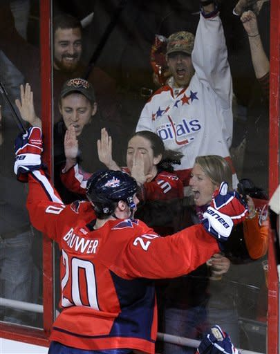 Capitals win 4th straight, defeat Flames 3-1