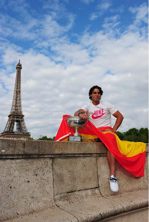 Rafael Nadal Of Spain Poses Getty Images