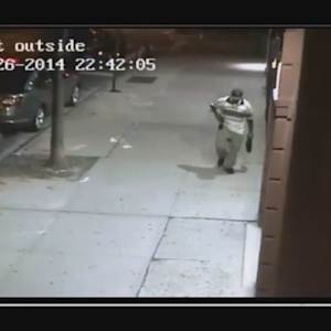 Surveillance Video: Upper West Side Assault Suspect