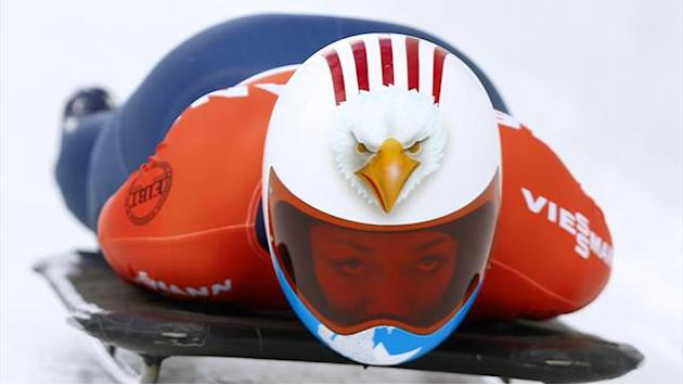 Skeleton - Yarnold narrowly loses in Park City