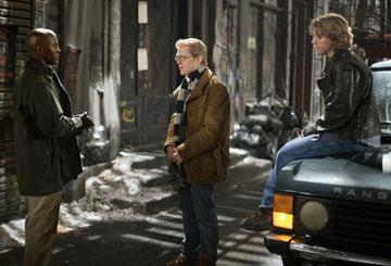 Taye Diggs , Anthony Rapp and Adam Pascal in Columbia Pictures' Rent