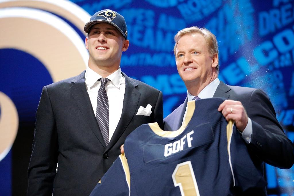Rams take Goff as top pick, Tunsil tumbles to number 13