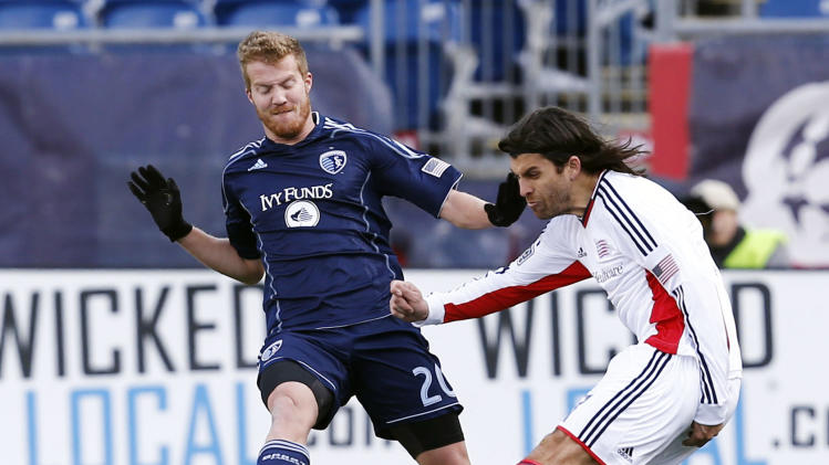 MLS: Sporting KC at New England Revolution