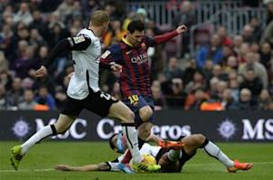 Lionel Messi: Valencia defeat a 'bad day' for Barcelona