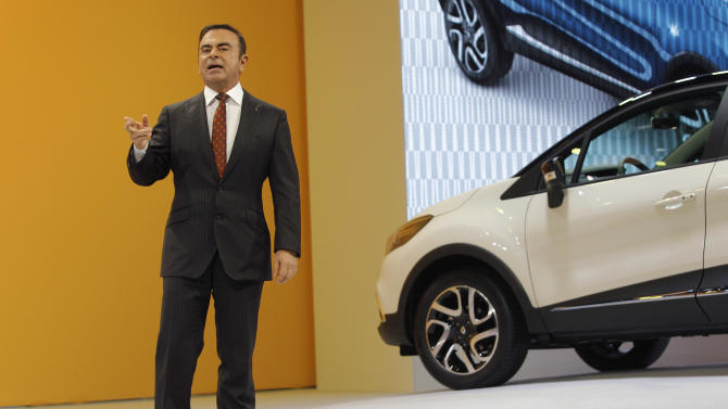 Renault CEO: Carmakers must push outside Europe