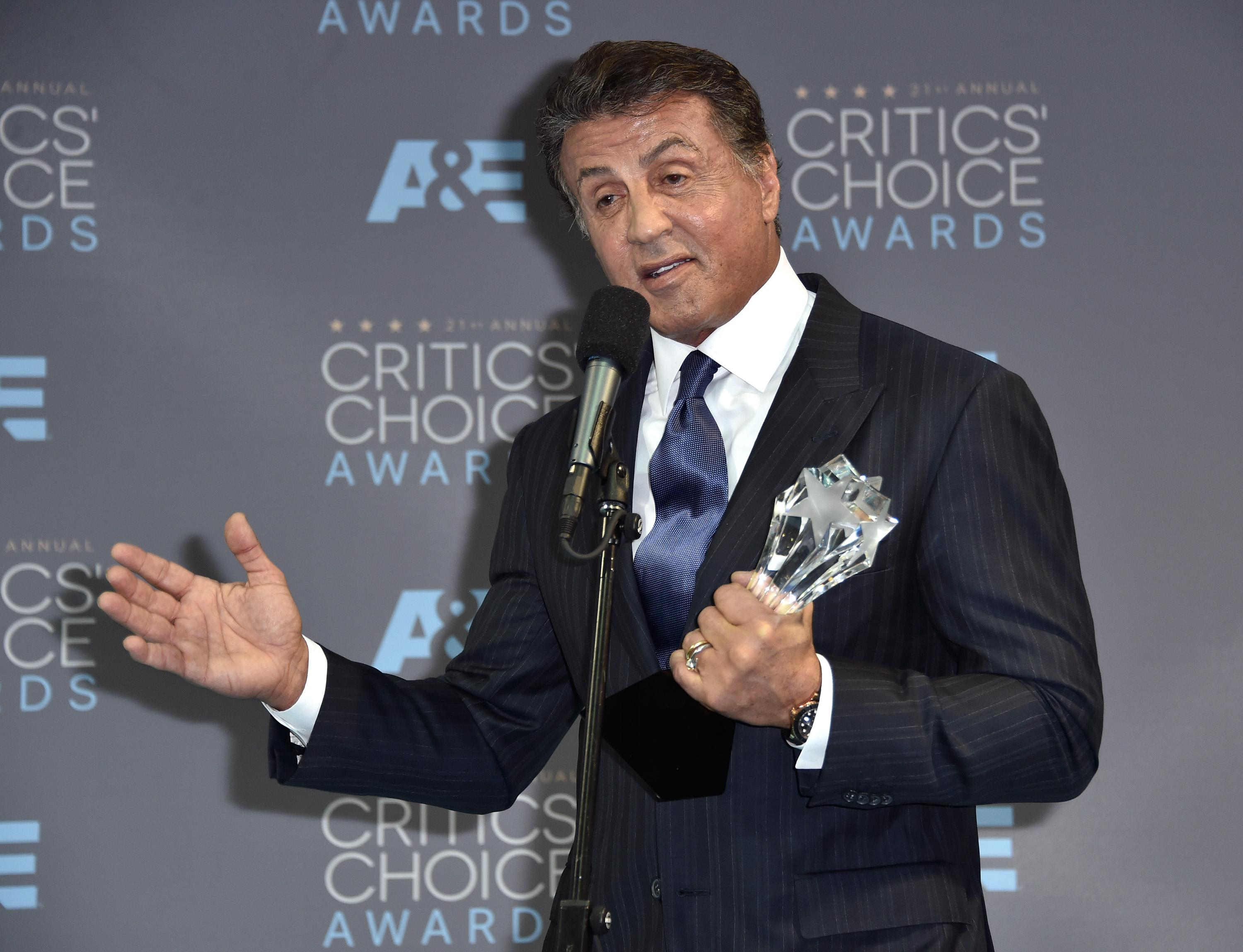 Sylvester Stallone Apologizes for Misspelling 'NAACP'