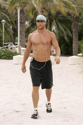 Matthew McConaughey works out in Miami in 2006 -- WireImage