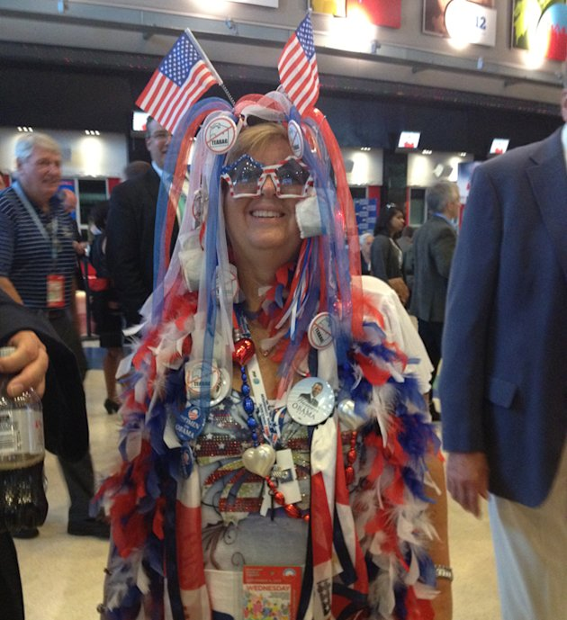 Delegate Audrey Blondin from Litchfield, Conn. (Olivier Knox/Yahoo News)