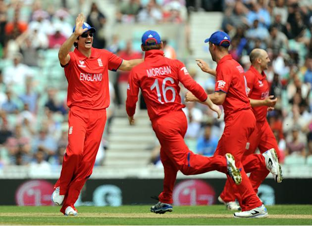 Cricket - ICC Champions Trophy - Semi Final - England v South Africa - The Kia Oval
