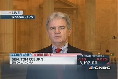 Sen. Coburn: Debt ceiling as cudgel