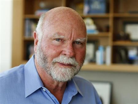 Genetic researcher Craig Venter is pictured in his office in La Jolla