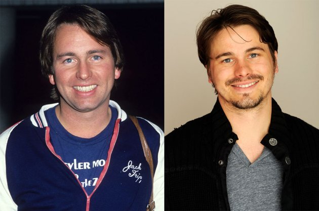 "Jason Ritter Famous Dad: John Ritter  Late actor John Ritter won an Emmy in 1984 for his performance in the classic television series ""Three's Company."" His son Jason Ritter, 32, has appeared in sever"