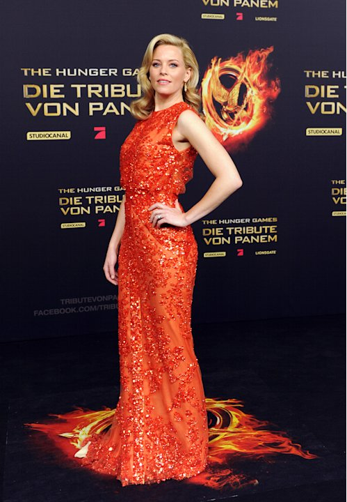 The Hunger Games Berlin Premiere Elizabeth Banks