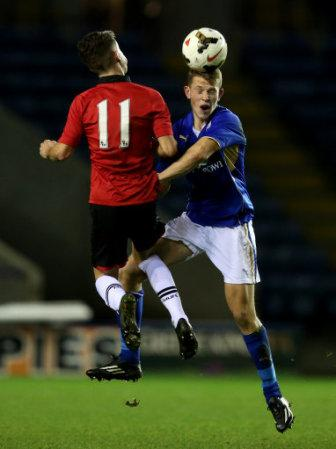 Soccer - FA Youth Cup - Fourth Round - Leicester City v Manchester United - Filbert Street