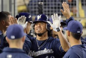 Brewers beat Kershaw, Dodgers 6-3