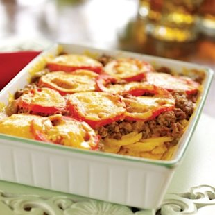 A baked, casserole version of this favorite American food!