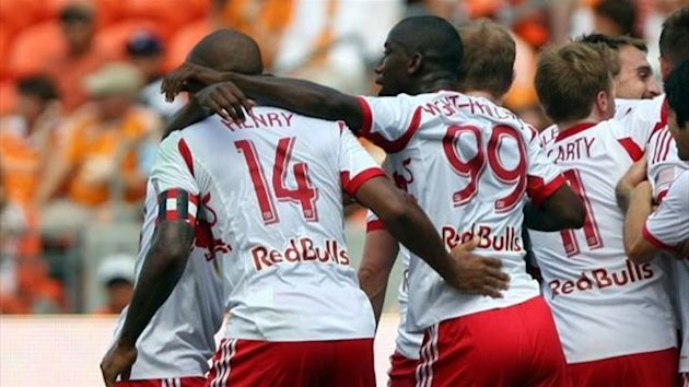 Thierry Henry and Bradley Wright-Phillips