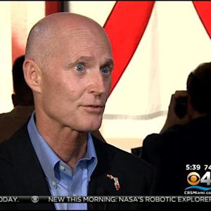 Gov. Scott In South Florida Today
