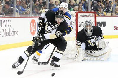 NHL scores 2015: Sidney Crosby comes alive for Penguins in two-goal performance