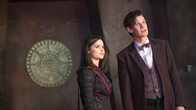 An image from 'Doctor Who's' 'The Bells of St. John' -- BBC America