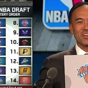 2015 NBA Draft Lottery Order