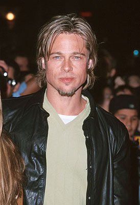 Brad Pitt at the Mann Village Theater premiere of Universal's Erin Brockovich