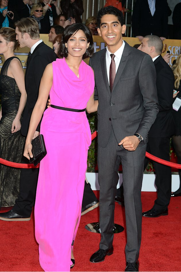 Freida Pinto and Dev Pate …