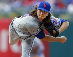 Jacob deGrom, a not-so-poor-man's Julio Teheran. (Getty)