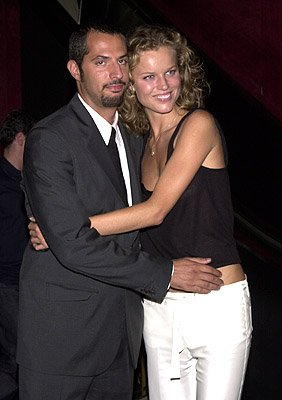 Guy Oseary and Eva Herzigova at the New York premiere of 20th Century Fox's Planet Of The Apes
