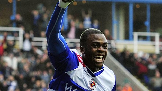 Reading's Hope Akpan (AFP)