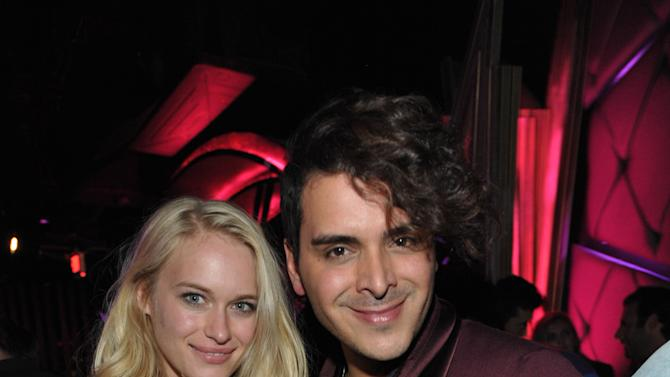 Leven Rambin, left, and Marcus Molinari at DETAILS @ Midnight LA with Azealia Banks on Wednesday, Nov. 14, 2012 in Los Angeles. (Photo by John Shearer/Invision for DETAILS Magazine/AP Images)