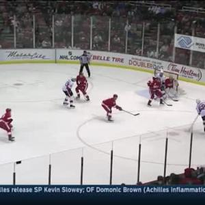 Petr Mrazek Save on Mike Hoffman (04:17/3rd)