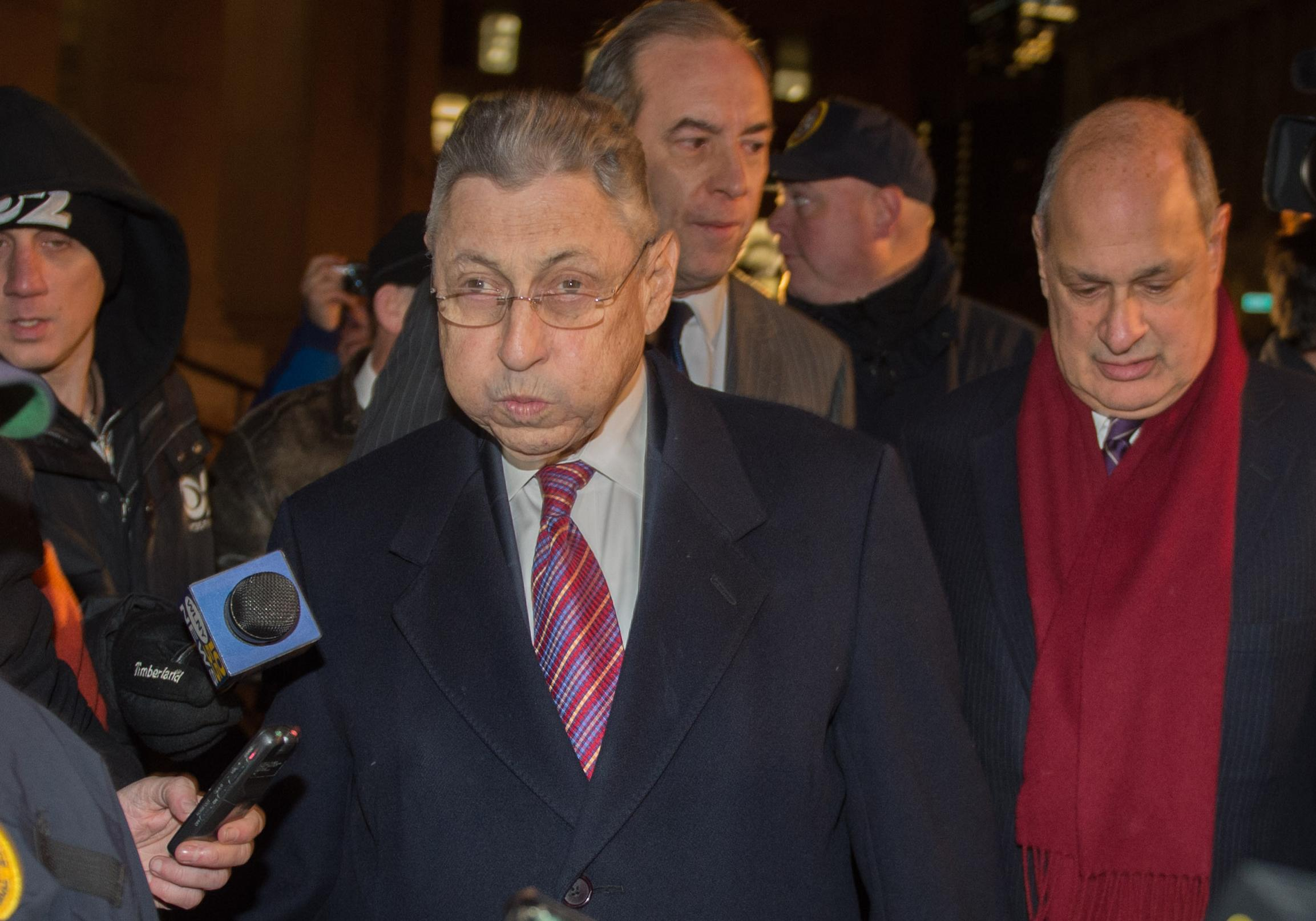 Ex-speaker, once a major powerbroker, is convicted in NY