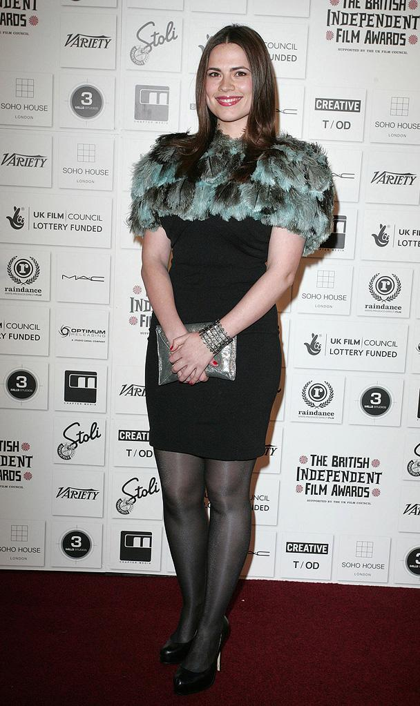 2009 British Independent Film Awards Hayley Atwell