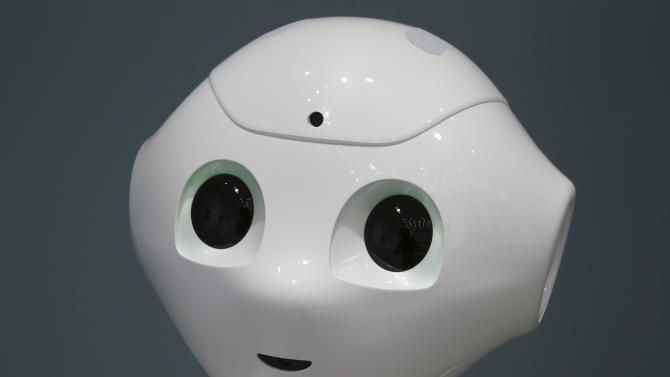 Emotional robot set for sale in Japan next year