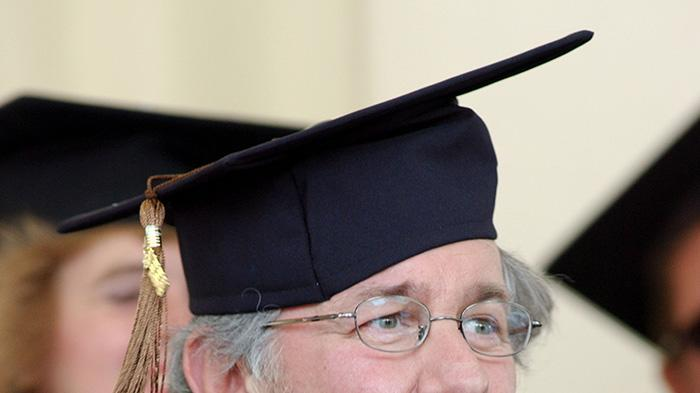 Director Steven Spielberg Graduates from Cal State University Long Beach