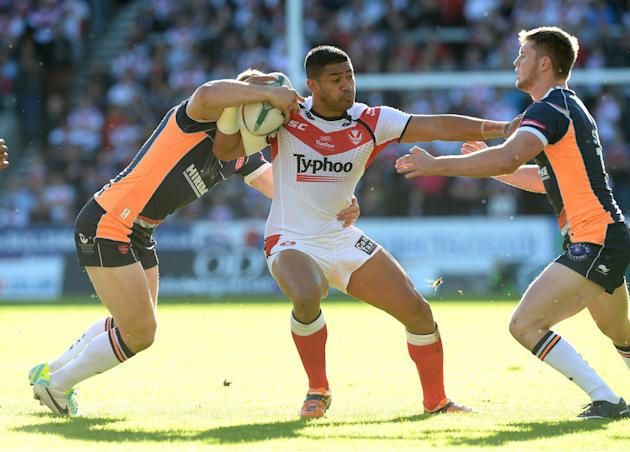 Rugby League - Super League Elimination Play Off - St Helens v Hull KR - Langtree Park