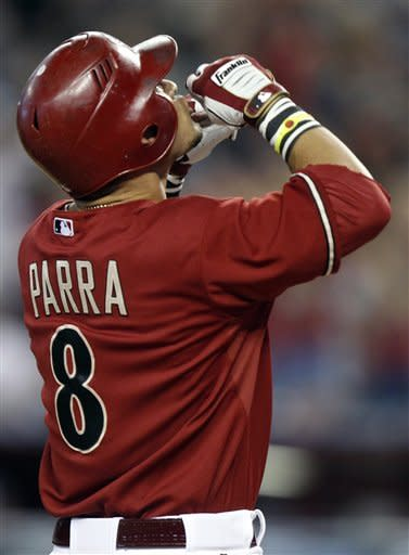 Parra's grand slam helps Arizona end 5-game skid