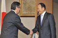 Lee Sang-Deuk, elder brother of South Korean President Lee Myung-Bak, in Tokyo in 2011. Prosecutors allege the 76-year-old former lawmaker took $525,000 from chairmen of two troubled savings banks between 2007 and 2011 in return for helping them avoid audits and punishment