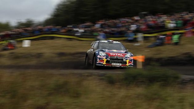 2012 Rally GB Citroen Loeb