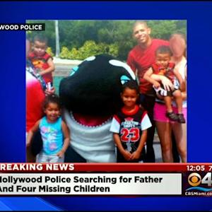 Hollywood Police Looking For Father & Four Missing Kids