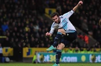 Norwich City 0-1 Chelsea: Mata strike enough for buoyant Blues
