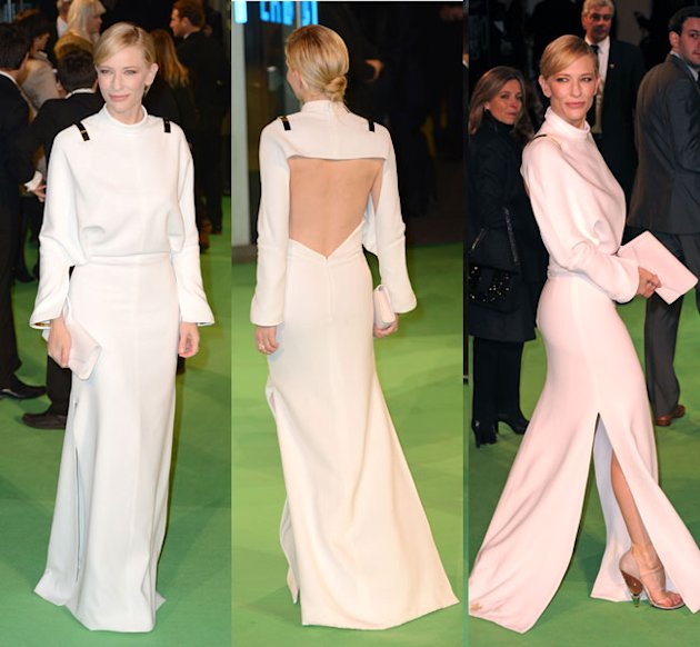 Cate Blanchett Wows In Givenchy At The Royal Premiere Of The Hobbit