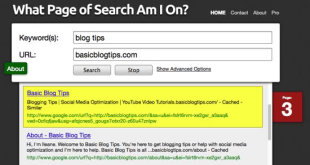 Increase search rankings with WhatPageofSearchamIon.com