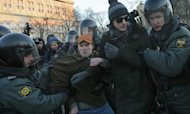 Anti-Putin Rally: Protest Leaders Detained