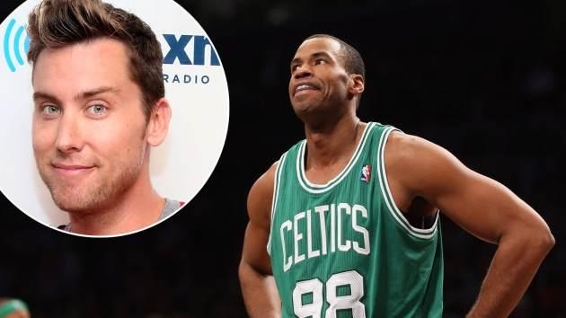 Jason Collins / Lance Bass -- Getty Images