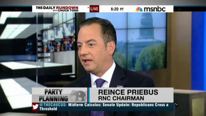 Reince Priebus: Report on GOP's Women Voter Problems Is Actually Bad for Democrats